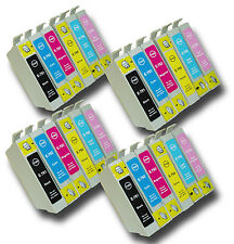 24 T0791-T0796 'Owl' Ink Cartridges Compatible Non-OEM Epson Stylus PX820FWD