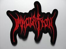 IMMOLATION  RED LOGO   EMBROIDERED PATCH