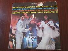CELIA CRUZ Tito Puente Cuba Y Puerto Rico son lp