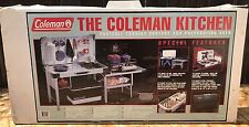 NEW IN BOX - Coleman Camp Kitchen Sink, Stove Table, Storage, Food Prep & Game