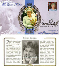 4 AUGUST 2000 QUEEN MOTHER BENHAM BSSp FDC SIGNED BY ACTRESS PAMELA CUNDELL