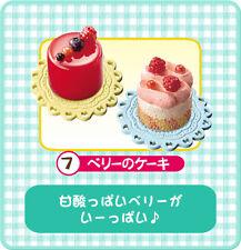 Re-ment dollhouse miniature sour berry cakes