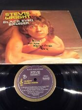 STEVIE WRIGHT BLACK EYED BRUISER LP  SIGNED BY STEVIE WRIGHT RARE   EASYBEATS