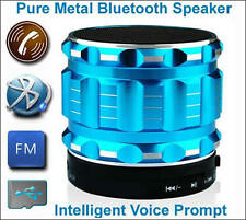 Portable Mini Bluetooth mobile speaker-metal-Wireless-supports SD card 4 colour