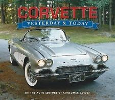 "Chevy ""CORVETTE--Yesterday and Today"" brand new hardbound book lots of info/pics"