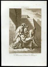 santino incisione acquatinta 1800 S.PROSDOCIMO I V. DI PADOVA