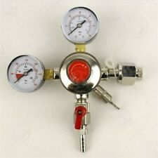 REGULATOR Co2 DUAL GAUGE HEAVY DUDE FOR DRAFT BEER KEG OR BULK SODA CARBONATION
