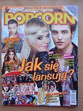 POPCORN 6/2011 DODA,ROBERT PATTINSON,Rage Against The Machine,Adam Lambert