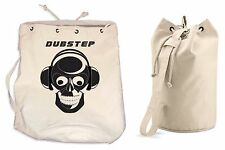 DUBSTEP DUFFLE BAG - College Rucksack Gym Dub Step Backpack Techno Drum & Bass