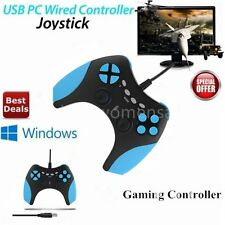 Wired USB Gamepad Game Controller Joypad Joystick Control for PC Computer SM
