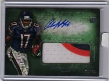 2012 Topps Inception Alshon Jeffery Rookie Auto 3 Color Jersey /50 Bears