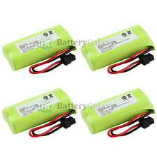 4 Cordless Home Phone Battery for Uniden BT-1008 BT1008
