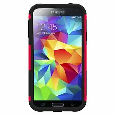Trident Aegis Rugged  Case Cover  Samsung Galaxy S V S5 I9600 Red- Brand New