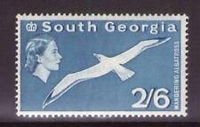 South Georgia QEII SG12 2/6 Blue 1963 Superb MNH condition.