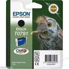 EPSON STYLUS PHOTO 1400 BLACK INK T0791 TO791 OWL