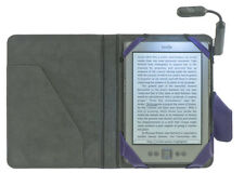 Kindle 4, 5 & 7 COVER CON LUCE Paperwhite Touch Kobo Sony M-Edge caso JACKE