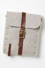 Anthropologie Riveted Felt Bike Crossbody Bag By Flux Productions Handmade $279
