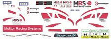 #14 MSR Team McLaren MP4-12c GT3 2012 1/43rd Scale Slot Car WATERSLIDE DECALS