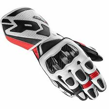 GUANTO GLOVE NERO ROSSO IN PELLE CARBO 1 SPIDI SIZE XL