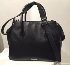 Rebecca Minkoff Beautiful Black Leather Sachel Hardly Worn Orig 550.00
