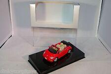 AUTOART AUTO ART VW VOLKSWAGEN NEW BEETLE CABRIO RED MINT BOXED RARE SELTEN RARO