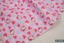 Hello kitty100% Cotton Fabric Low Price & High Quality 1.60m width  [1306-020]