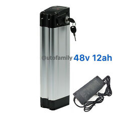 DuraB 48V 12AH Lithium Battery Electric Bicycles Li-ion E-Bike with A Charger