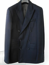 New KENT&CURWEN navy LORO PIANA wool-cashmere DB Peak blazer 40/38R/50/48 RRP850