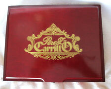 E. P. CARRILLO LA HISTORIA DONA ELENA POLISHED WOOD CIGAR BOX -  BEAUTIFUL!!!