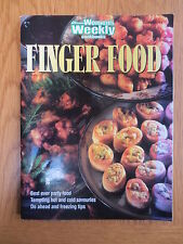 Cook Book FINGER FOOD Party Recipes Australian Women's Weekly Cookery Cooking