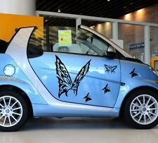 Car Butterfly Animal Door Decal for Smart Vinyl Graphics Side stickers #480