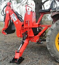 6'Dig Tractor Backhoe w/Tank,Pump,Filter, PTO Powered Cat.I 25Hp+ (FH-BH6)