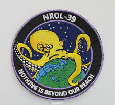 US NROL-39 COLLECTOR OCTOPUS SPACE SPY SATELLITE MISSION PATCH NOTHING IS BEYOND