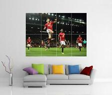 ZLATAN IBRAHIMOVIC AND PAUL POGBA MANCHESTER UNITED MAN UTD FC PRINT POSTER