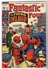 Marvel Comics  VFN 8.0   FANTASTIC FOUR  #91 1970 Thing enslaved