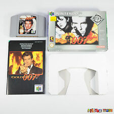 Goldeneye - BOXED WITH MANUAL - VERY GOOD CONDITION - Nintendo 64 N64 Game PAL