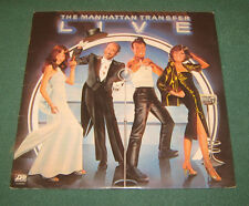 "Manhattan Transfer Lp "" LIVE "" Atlantic 1978"