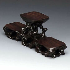 Chinese handcraft wood stand for snuff bottle,carving Display