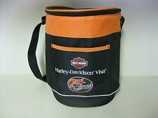 COLLECTIBLE HARLEY DAVIDSON VISA 75TH ANNIVERSARY INSULATED COOLER
