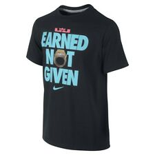 *RARE* NIKE LEBRON EARNED NOT GIVEN CHAMPIONSHIP SHIRT SOUTH BEACH MIAMI HEAT XL