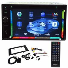 "Jensen VX7020 6.2"" Double Din Car Navigation GPS DVD Receiver Bluetooth iPhone"
