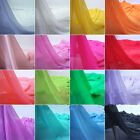 """1m wedding material Georgette chiffon Soft Fabric all Color Lining 59"""""""