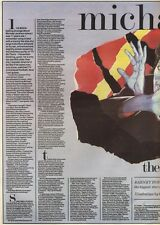 17/9/83PN24/25/35 ARTICLE MICHAEL JACKSON THE BOY WHO WOULD FLY
