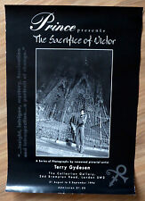 Sacrifice of Victor Terry Gydesen & Prince Poster from book exhibition 1994 UK