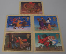 1988 Famous Children's Fantasy Novels PHQ 199 cards with Stamps FDI/SHS