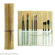 Artists' Quality Bamboo Paint Brush Roll Pencil and Pen Wrap 28cm x 27cm