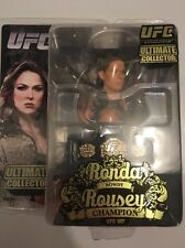 MOC UFC 157 ULTIMATE COLLECTOR RONDA ROUSEY ROUND 5 ACTION FIGURE W/ BELT