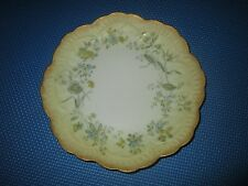 Vintage Limoges French Hand Painted Floral Plate 8INCHES