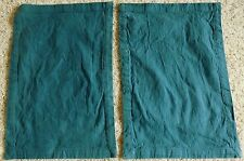 PIER One PLACE Mats PLACEMATS Lot OF 2 Two BLUE Slate BASIC Chambray 14X20 SIZE*