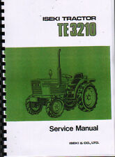 "Iseki ""TE 3210"" Tractor Service Workshop Manual"